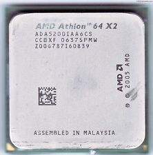 AMD Athlon 64 x2 5200+, am2, 2,6 GHz, FSB 1000, 2 MB l2, ada5200iaa6cs, 89 Watt