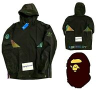 ADIDAS x BAPE SNOW JACKET A BATHING APE COAT HOODIE OG DS MEN'S BNWT GENUINE XL