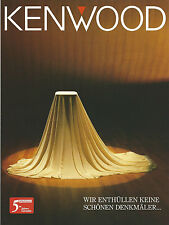 Catalogo Kenwood altoparlanti prospetto