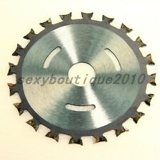 "Home Metalworking 4"" Carbide Tipped Table Saw Blade Circular Wood Cutting Tool"