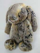 JELLYCAT Bashful Cottontail Bunny Plush Multi Toned Fur Stuffed Animal