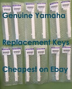 New Genuine Yamaha Electric Piano Clavinova CLP CVP replacement Key Notes Keys