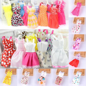 60pcs Items For Barbie Doll Dresses, Shoes, Jewellery Clothes Set Accessories UK