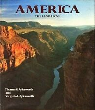 AMERICA THE LAND I LOVE - AYLESWORTH - BISON BOOKS, 1985