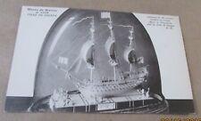 Postcard.<Sailing Ships> VILLE DE DIEPPE-<1519 SAILING SHIP MODEL--MUSEUM>