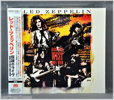 LED ZEPPELIN How The West Was WON LIVE 3 CD's JAPAN WPCR-11585 DigiPak & Booklet