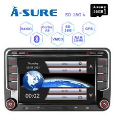 DAB+ Car stereo DVD GPS sat nav for VW Touran Seat Leon Skoda Fabia Sharan Caddy