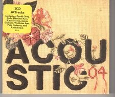 (HH36) Acoustic 04, 40 tracks various artists - 2004 double CD