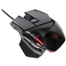 Mad Catz Cyborg R.A.T. RAT 3 Gaming Optical Mouse 3500 dpi Gloss Black, PC & Mac