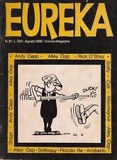 EUREKA n. 10 - EDITORIALE CORNO - AGOSTO 1968