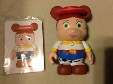 """Jessie Jesse CowGirl Toy STORY 1 Disney VINYLMATION 3"""" Figure w Card WDW Authent"""
