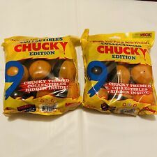 NECA CHUCKY Edition Themed 2 Toy Capsule Mystery Hidden Collectibles 9 Per Bag