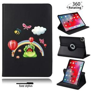 360°Rotating Leather Stand Case Cover Fit Apple iPad Air / Air 2 / Air 3 / 4+pen