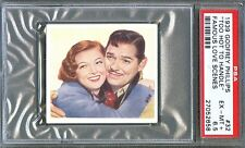 1939 Famous Love Scenes Card #32 Too Hot To Handle CLARK GABLE Myrna Loy PSA 6.5