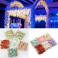 5M Pearl Beads Garland Rose Flower String For Wedding Hanging Decor Crafts