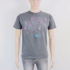 Atticus Mens Size S Charcoal Grey Crew Neck T Shirt Top