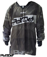 PBrack Paintball Ultra Flow Jersey - Black - 2XL