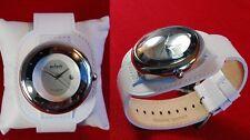 Neu Axcent Sphere Herren Damen Uhr Armbanduhr weiß   #042