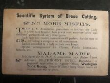 1893 Barbados Postal Stationary Cover Local Used Scientific System Of Dress