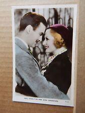 .Film partners  Postcard PC76 Neil Hamilton & Joan Crawford unposted