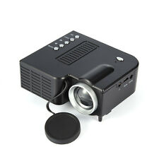 LCD HD 1080P LED Video Projector 3D Wifi Home Theater SD TV/USB/VGA HDMI Black