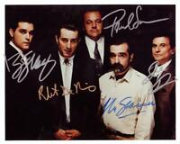 GOODFELLA'S CAST AUTOGRAPHED 8X10 COLOR PHOTO REPRINT (FREE SHIPPING)*