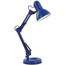 Tischleuchte Schreibtischleuchte Schreibtischlampe blau * Globo