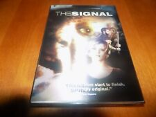 THE SIGNAL Sci-Fi Horror Terror LENTICULAR COVER AJ Bowen DVD SEALED NEW