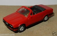 MICRO WIKING HO 1/87 BMW 325 I CABRIOLET ROUGE 1