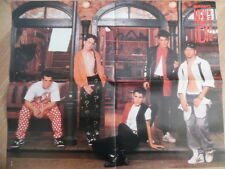 NEW KIDS ON THE BLOCK + RICHARD GRIECO BRAVO Super-Poster 52 x 40 cm Clipping 30