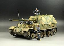 1/35 Built German Sd.Kfz.184 Ferdinand Tank w/4 Figures (Workable Suspension)