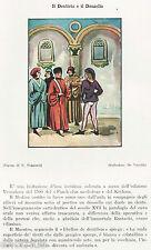 1500: MEDICO,ALLIEVI E RAGAZZO CON MAL DI DENTI. Dentista. Dentist.Zahnarzt.1929