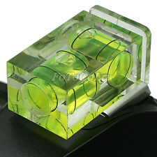2 Axis Double Bubble Spirit Level on Camera Hot Shoe