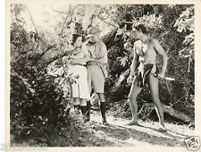 cinema film lex barker tarzan rara fotografia originale 26x20 anni 50 photo rare