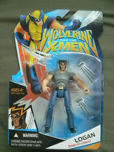 Marvel Wolverine and the X-Men Logan with Snap-on Claws
