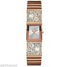 Guess Women's  U0002L4 Stainless Steel Sparkle Rose Gold-Tone Bejeweled Watch