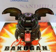 Bakugan Tuskor Black Darkus B1 Classic 600G & cards
