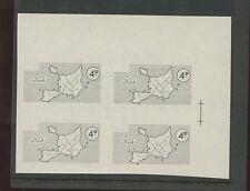 Guernsey SARK 1964/5 4d vignette imperf PROOF block 4