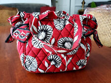 Vera Bradley Classic Cotton Small Tote Bag Washable H 6 1/2 x W 8 1/4 inches