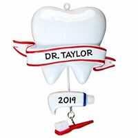 Personalized Dentist Christmas Hanging Tree Ornament HOLIDAY GIFT 2020