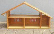 Puppenhaus aus Holz Dach abnehmbar