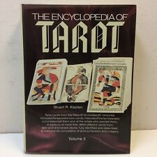 The Encyclopedia of Tarot Vol. II 2 Stuart R. Kaplan 1986 1st Ed. •EUC‼ FREE S/H