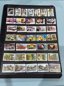 Lot B21 of Australian Self Adhesive stamps fine used Australia off paper
