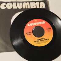 "LOVERBOY - The Kid Is Hot Tonight / Teenage Overdose- 7"" 45RPM Vinyl Record - EX"