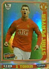 Cristiano Ronaldo - Star Player #273 - 2009 Topps Total Football - Foil Sticker
