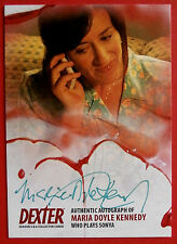 DEXTER - Series 5 & 6 - CARD SIGNED ON BOTH SIDES! - MARIA DOYLE KENNEDY - AMD2