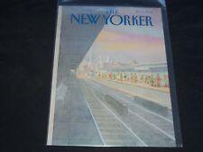 1980 NOVEMBER 24 NEW YORKER MAGAZINE FRONT COVER ONLY - GREAT ART FOR FRAMING