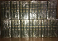 THE HARVARD CLASSICS! 37 Not Complete Green FIRST EDITION Set Wear/stains/DAMAGE
