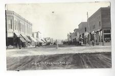 Crawford, Nebraska, Main St. RPPC