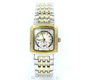 INVICTA WILD FLOWER No. 4101 Diamond MOP Dial Two Toned Stainless Steel Watch